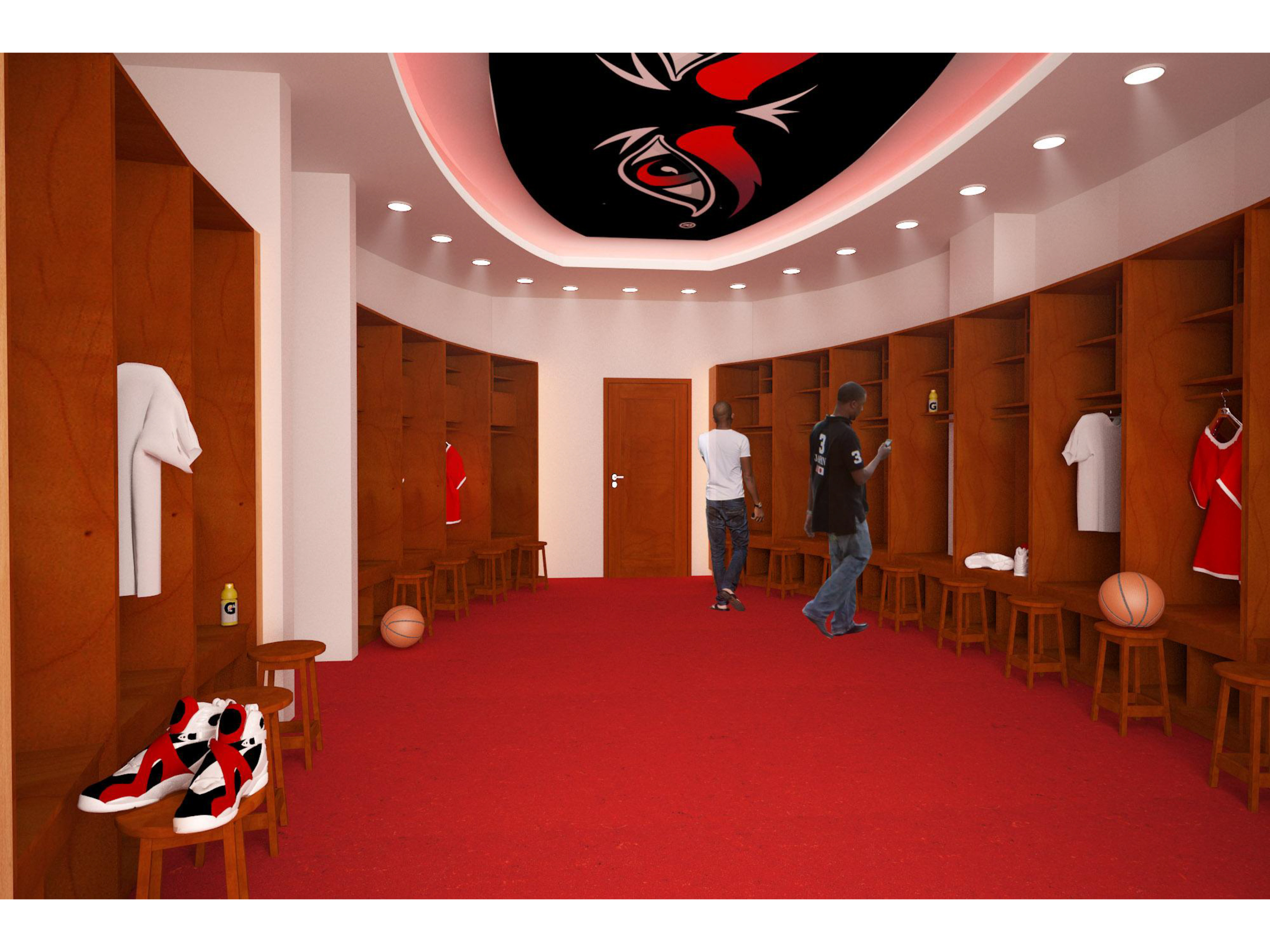 Menu0027s Basketball Locker Room Project To Commence