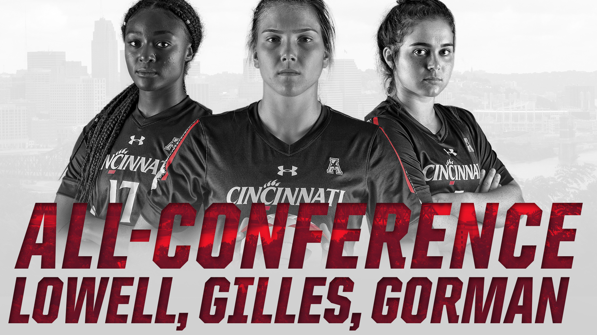 Gilles Voted American Athletic Co-Defensive Player of the Year